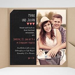 Karten Hochzeit Puristisch