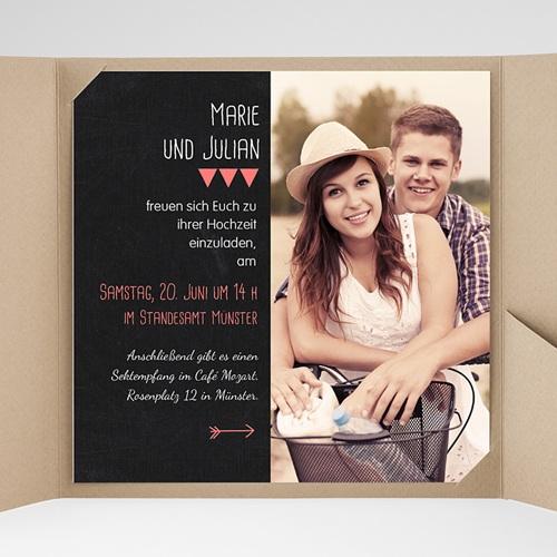 Hochzeitskarten Quadratisch - Puristisch 38357 preview