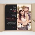 Hochzeitskarten Quadratisch Puristisch