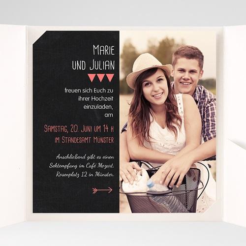 Hochzeitskarten Quadratisch - Puristisch 38358 preview