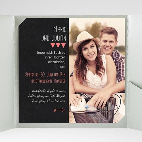 Hochzeitskarten Quadratisch - Puristisch 38359 preview
