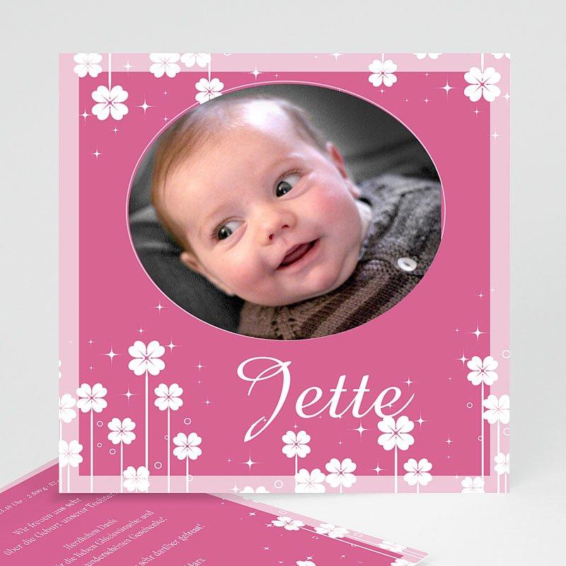 Geburtskarten für Mädchen Kleine Blume