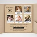 Hochzeitskarten Quadratisch Liebesglück