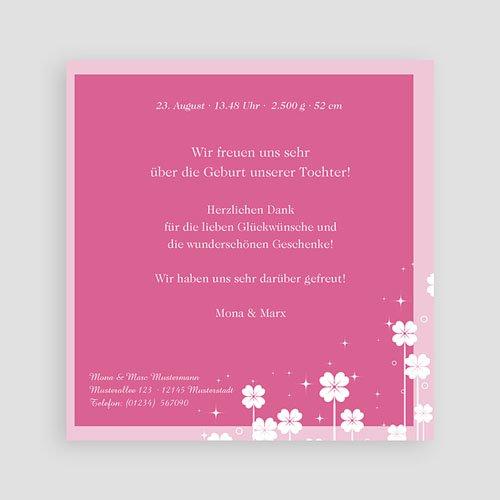Geburtskarten für Mädchen - Kleine Blume 3837 preview