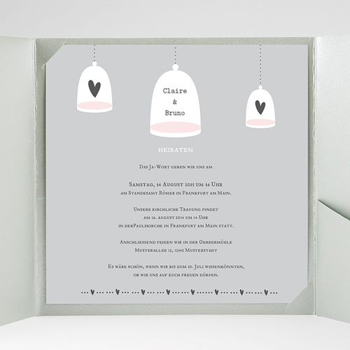 Hochzeitskarten Quadratisch - Malta 38375 test