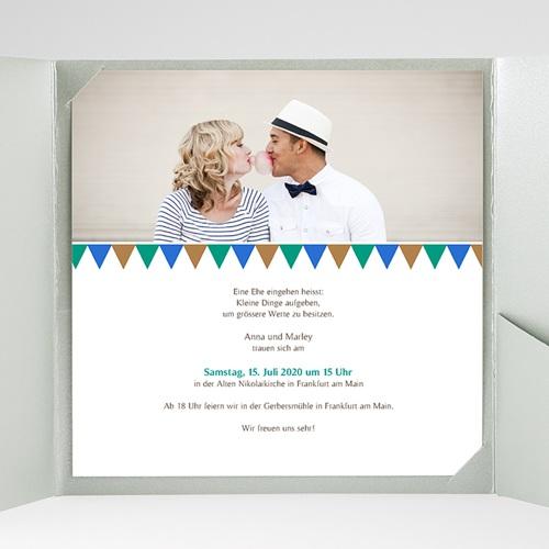 Hochzeitskarten Quadratisch - Mosaikdesign 38423 preview