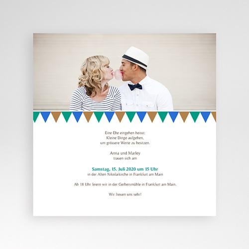 Hochzeitskarten Quadratisch - Mosaikdesign 38424 preview