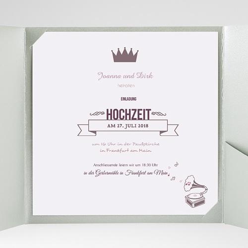 Hochzeitskarten Quadratisch Zarte Töne gratuit