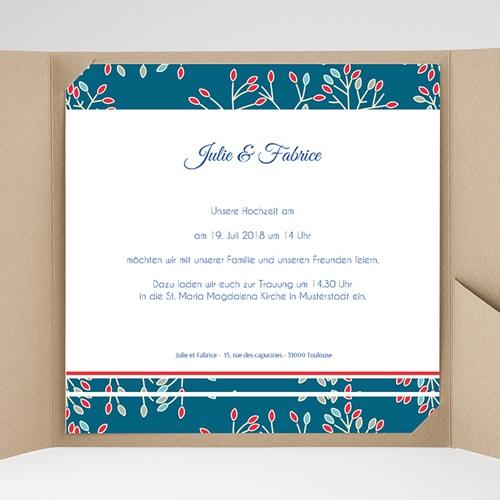 Hochzeitskarten Quadratisch - Aubusson 38441 test