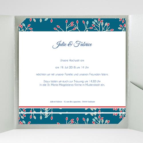 Hochzeitskarten Quadratisch - Aubusson 38443 preview