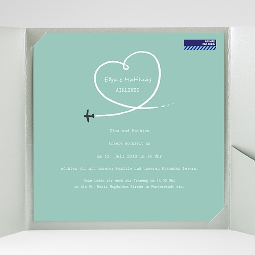 Hochzeitskarten Quadratisch Flieg gratuit