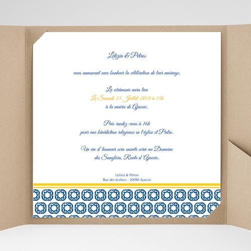 Hochzeitskarten Quadratisch - Design Lissabon 38469 preview