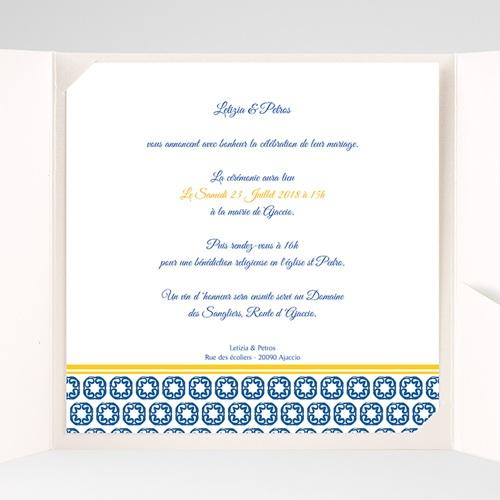 Hochzeitskarten Quadratisch - Design Lissabon 38470 preview