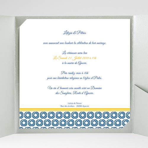 Hochzeitskarten Quadratisch - Design Lissabon 38471 preview