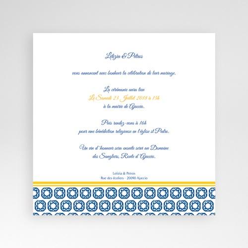 Hochzeitskarten Quadratisch - Design Lissabon 38472 preview