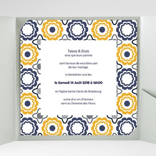 Hochzeitskarten Quadratisch - Azulejo 38479 preview
