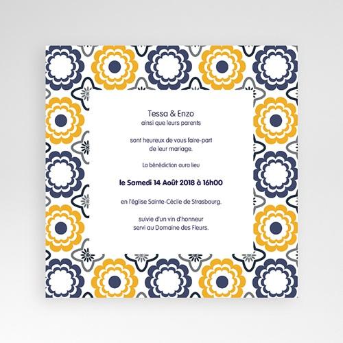 Hochzeitskarten Quadratisch - Azulejo 38480 preview