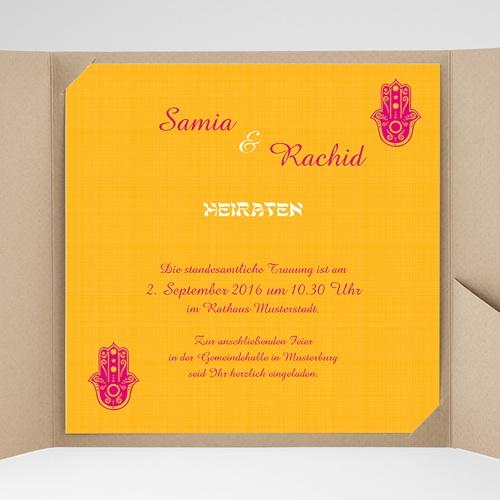 Hochzeitskarten Quadratisch - Zauberhaft 38505 preview