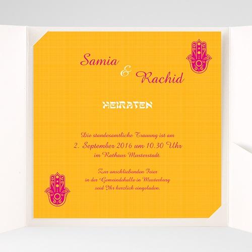 Hochzeitskarten Quadratisch - Zauberhaft 38506 test