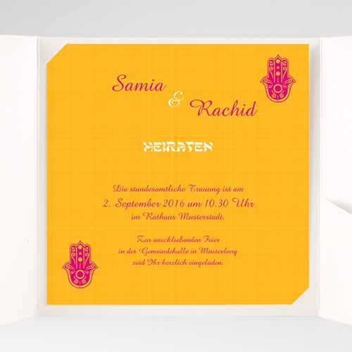 Hochzeitskarten Quadratisch - Zauberhaft 38506 preview
