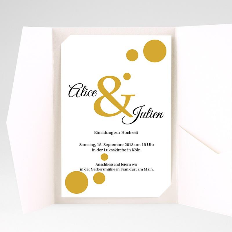 Hochzeitskarten Querformat Bunt gemischt pas cher