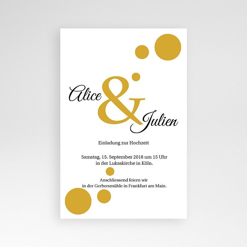 Hochzeitskarten Querformat Bunt gemischt