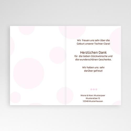 Geburtskarten für Mädchen Luftblasen  pas cher