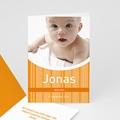 Geburtskarten für Jungen - Orange 3864 thumb