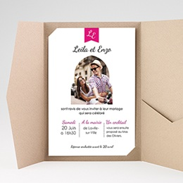 Hochzeitskarten Querformat - 1001 Nacht - 0