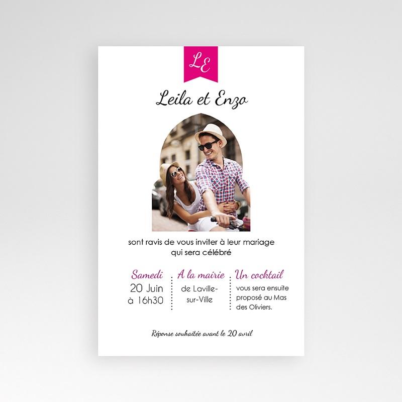 Hochzeitskarten Querformat Tunis