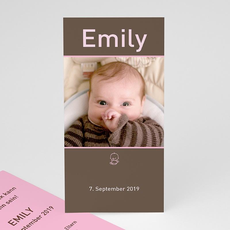 Geburtskarten für Mädchen Portrait