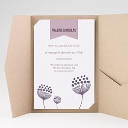 Karten Hochzeit Violetta
