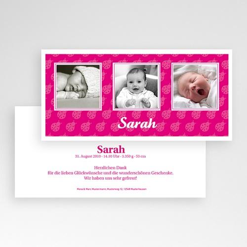 Geburtskarten für Mädchen - Marienkäfer 3893 preview