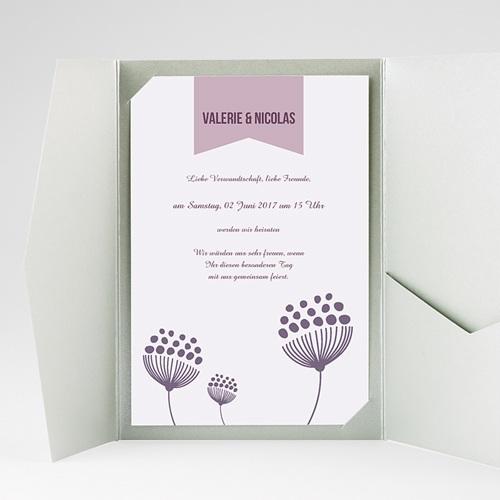 Hochzeitskarten Querformat - Violetta 38931 test
