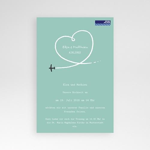 Hochzeitskarten Querformat - Weltenbummler 38960 preview