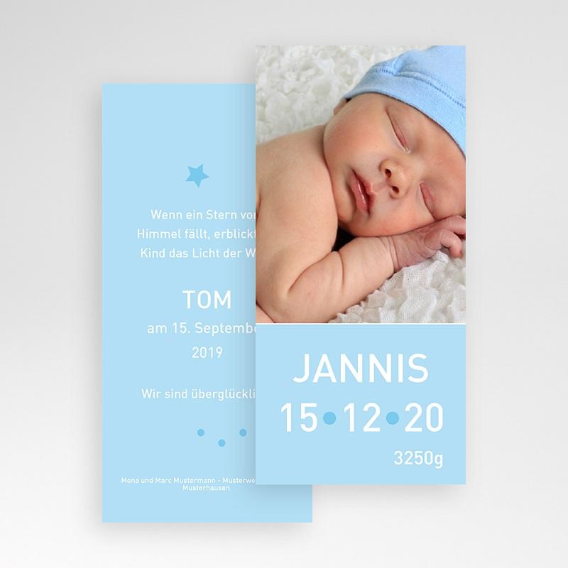 Geburtskarten für Jungen Levi pas cher