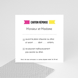 Antwortkarten Neon Gelb
