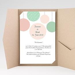 Karten Hochzeit Gepunktet