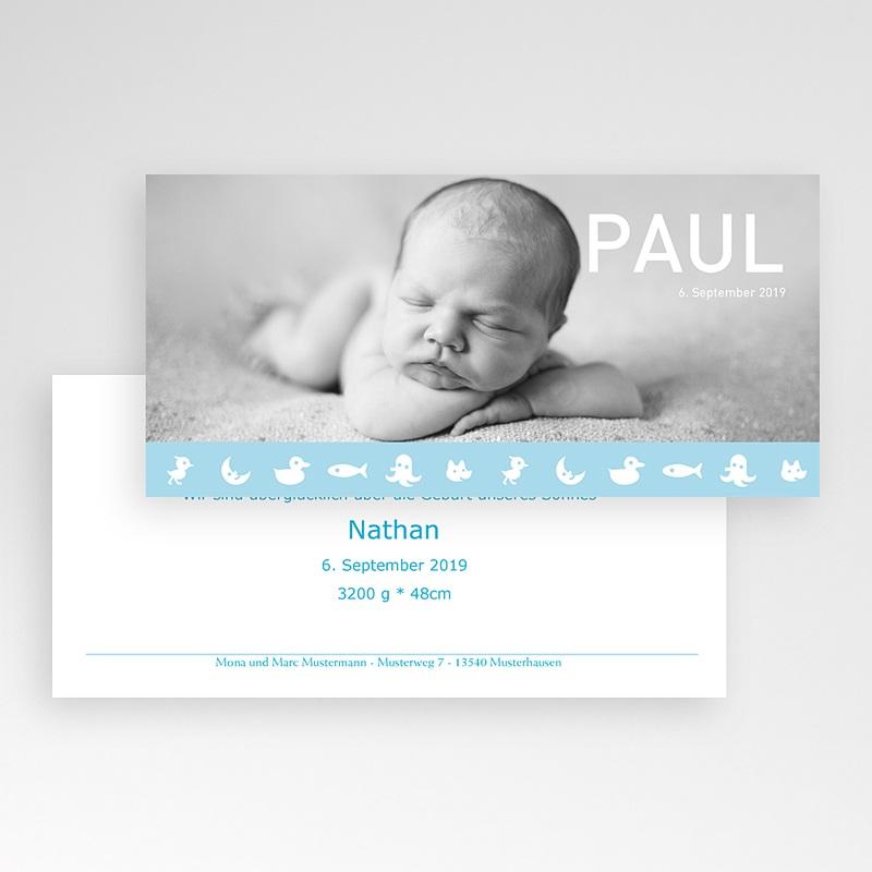 Geburtskarten für Jungen Lennart pas cher