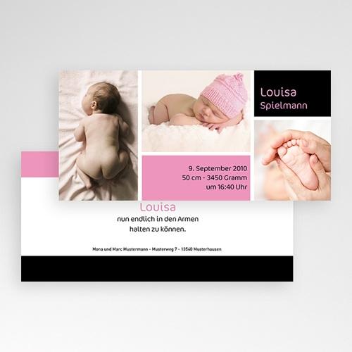 Geburtskarten für Mädchen Reduziert pas cher