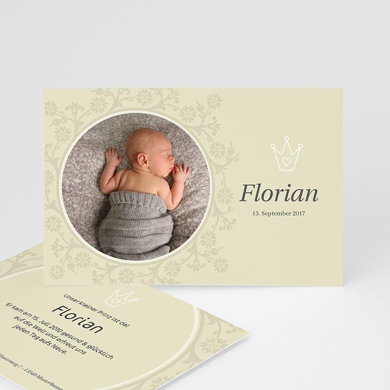 Geburtskarten für Mädchen Der kleine Prinz 3