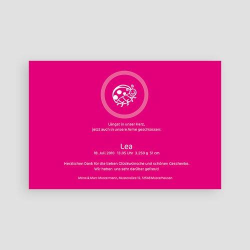 Geburtskarten für Mädchen - Lucie Käfer 3917 preview