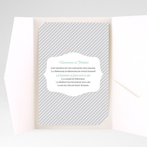 Hochzeitskarten Querformat Zweifarben Carteland De