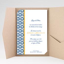 Hochzeitskarten Querformat - Design Lissabon - 0