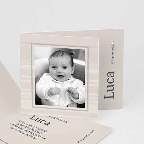 Geburtskarten für Jungen Luca