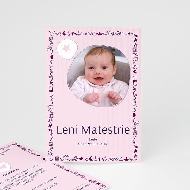 Mond Sterne Kleid: Geburtskarten Für Mädchen Mond Sterne