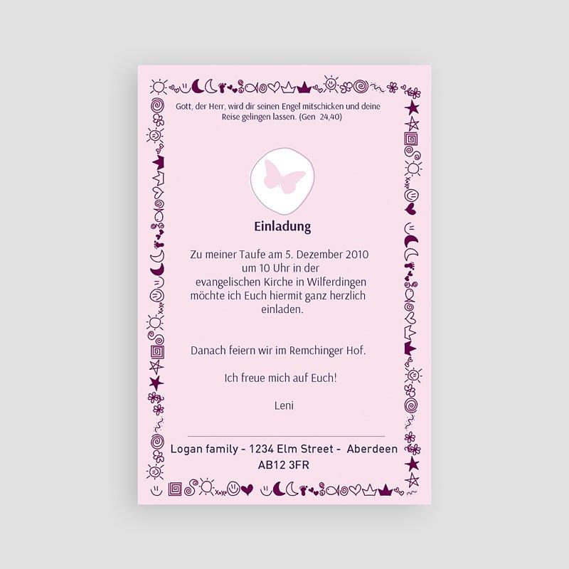 Geburtskarten für Mädchen - Mond Sterne 3949 thumb