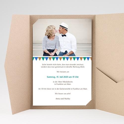 Hochzeitskarten Querformat - Kacheln 39501 thumb