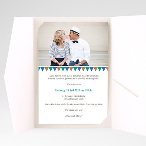 Hochzeitskarten Querformat - Kacheln 39502 thumb