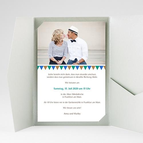Hochzeitskarten Querformat - Kacheln 39503 thumb